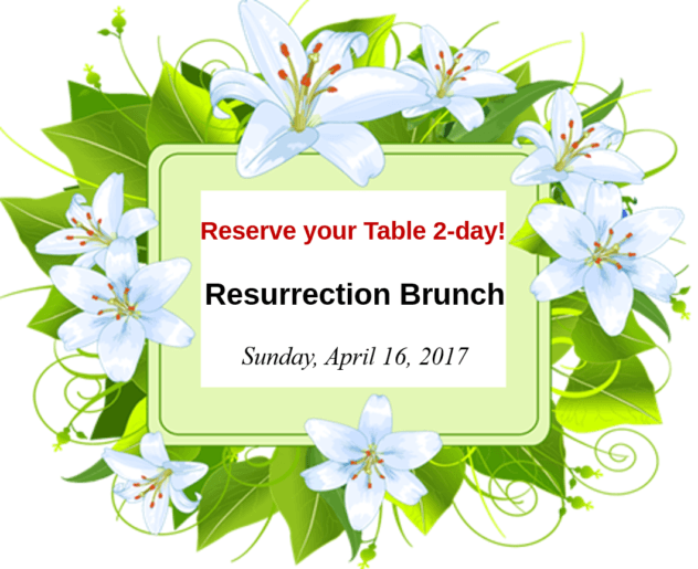 Please Make Reservations!