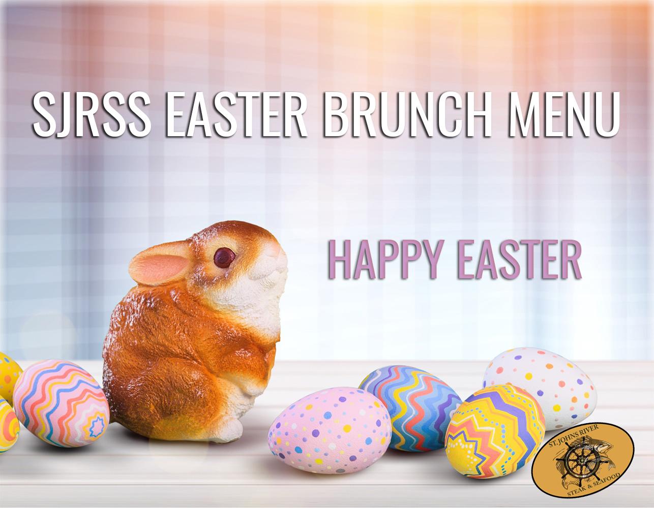SJRSS Easter Brunch Menu (+Kids Menu)