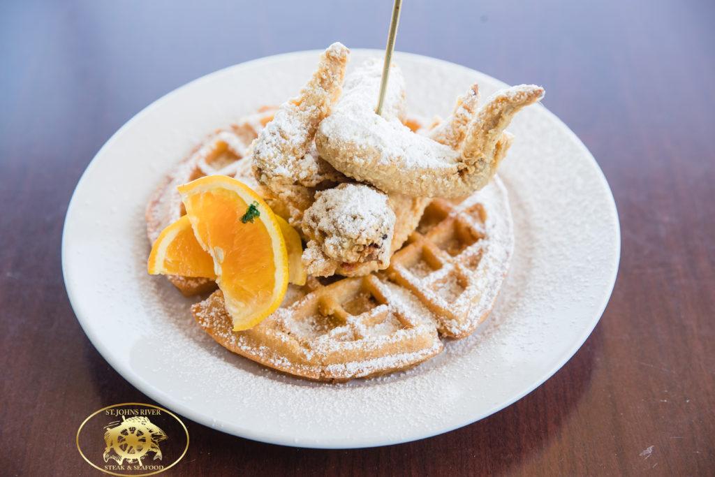 Sunday Brunch Menu - Chicken & Waffles